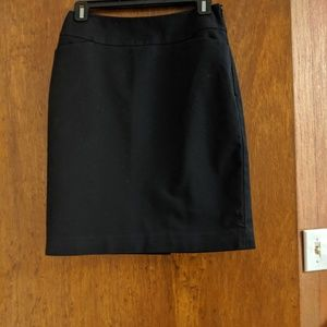Black Halogen Pencil Skirt 2P